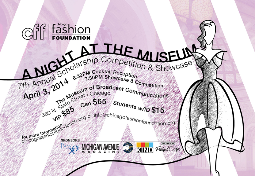 Chicago Fashion Foundation 2014 Scholarship Showcase & Competition